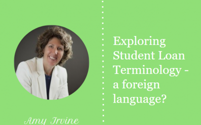 Exploring Student Loan Terminology – a foreign language?